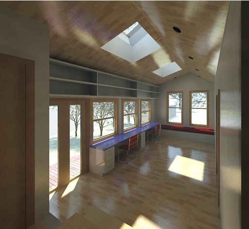 Brookshire_Residence_Vaulted Ceiling